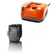 Husqvarna Акумулаторни батерии и зарядно