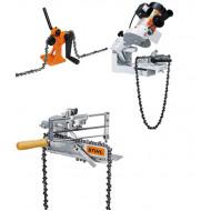 Stihl Инструменти за заточване, занитване и разнитване