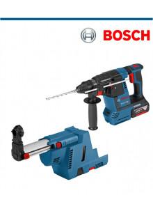 Акумулаторен перфоратор Bosch GBH 18V-26 F с подарък прахоулавяща приставка Bosch GDE 18V 1-6