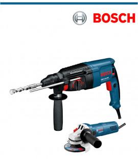 Перфоратор Bosch GBH 2-26 DRE в комплект с ъглошлайф Bosch GWS 750-115