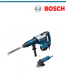 Перфоратор Bosch GBH 8-45 DV Profesional  с подарък ъглошлайф GWS 850 C
