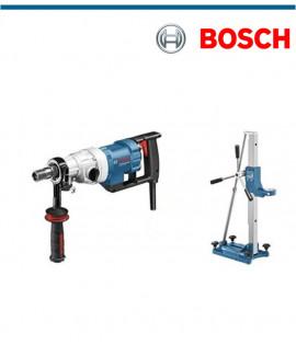 Диамантено пробивна машина Bosch GDB 350 WE в комплект със стойка за бормашина Bosch GCR 350