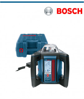 Ротационен лазер Bosch GRL 500 HV в комплект съсъ строителен статив BT 170 HD и лата GR 240