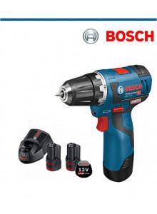 Акумулаторен винтоверт Bosch GSR 12V-20+2x2.0Ah