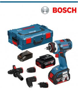 Акумулаторен  винтоверт Bosch GSR 18 V-LI HX SDS, Set2x4Ah + Gedore