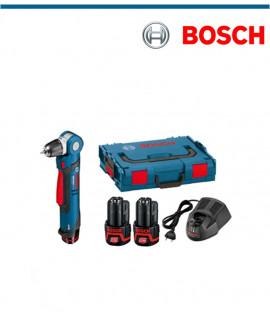 Акумулаторна ъглова бормашина Bosch GWB 12V-10 + 2 х 2,0Ah + L-Boxx