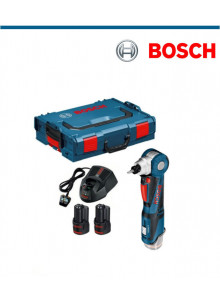 Акумулаторен ъглов гайковерт Bosch GWI 12V-5+2х2,0Ah+L-Boxx