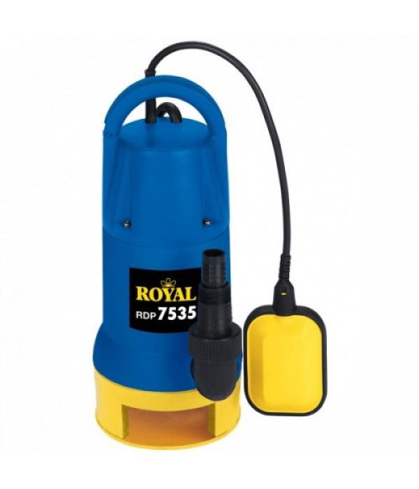Потопяема помпа за мръсна вода ROYAL 7535