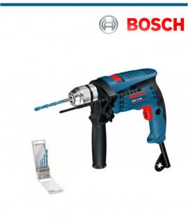 Ударна бормашина Bosch GSB 13 RE с подарък MultiConstruction 4 свредла